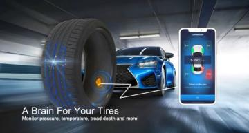 Smart tire solutions offer load, tread depth monitoring