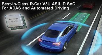 ASIL-D SoC speeds ADAS, automated driving development