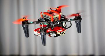 Keeping drones flying when a motor fails