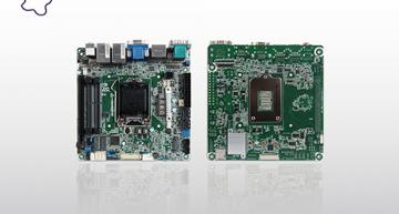 Mini ITX embedded system board offers flexible I/O