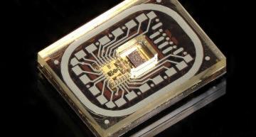 Industrial radar sensor is built in glass