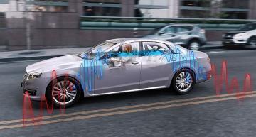 Automotive ANC sensors reduce road noise
