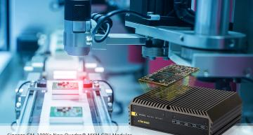 Cincoze GPU modules target high-performance machine vision