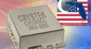 Low-phase noise VCO operates at 3950 MHz