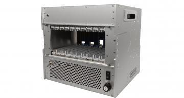 Ten slot 3U development chassis for OpenVPX designs