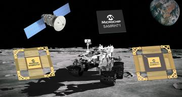 Microchip expands radiation-hardened Arm® MCUs/MPUs for space