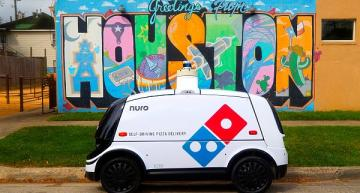 Autonomous pizza delivery launched in Houston
