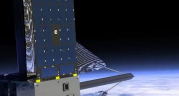 Nanosatellite to test solar sail