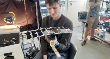 Nanosatellite developer raises funds for high resolution imaging