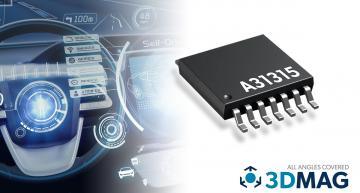 Magnetic position sensor enables next-generation ADAS