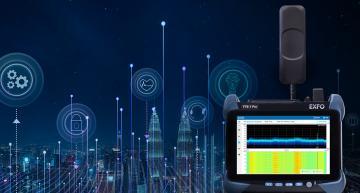Modular, portable 5G RF spectrum analyzer