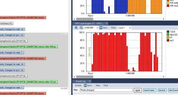 Tracealyzer v4.5 supports the ESP32 MCIU and  Zephyr RTOS