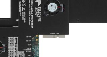PCIe 5.0 U.2/U.3 interposer cards for SSD protocol analysis