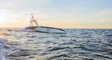 Autonomous ship begins transatlantic crossing attempt