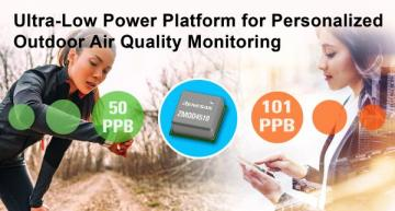 Outdoor air quality sensor offers selective ozone detection