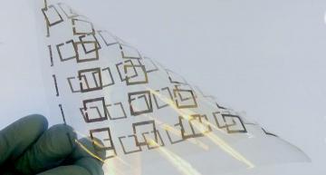 Inkjet printing low-cost metamaterial microwave resonators