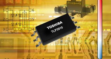 Photovoltaic-output photocoupler offers increased open voltage