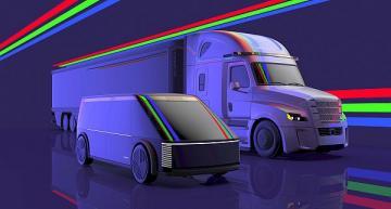Autonomous vehicle design concept envisions future robo-taxis, trucks