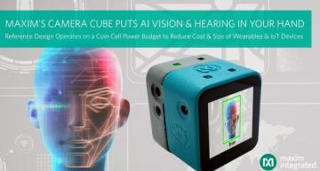 Hand-held camera cube reference design enables AI at the edge