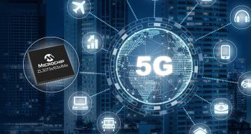 Single-chip network synchronization for 5G