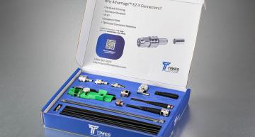 Kit enables hand-made connector and cable assemblies