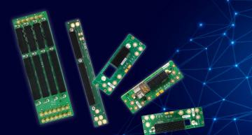 Power- and ground-only VPX backplanes
