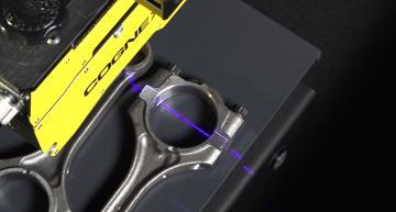 Speckle-free blue laser improves 3D image processing