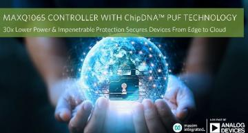 Ultra-low-power cryptographic controller with PUF technology