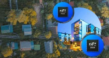 Secure sub-1-GHz SoCs combine long-range RF, energy efficiency