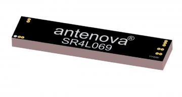 High performance SMD antenna for compact 4G/5G designs