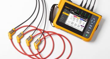 Power quality analyser for error-free measurements