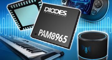High-efficiency Class-D stereo audio amplifier