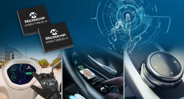 Automotive maXTouch controllers offer turnkey solution