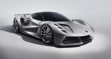 Lotus has shown the world's first fully electric hypercar, based around a 2,000 kW lithium-ion battery and management system from Williams Advanced Engineering (WAE).