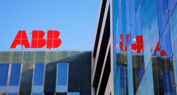 Swiss power specialist ABB has seen a boost from its US operation in the last six months but has taken a hit in selling off its solar inverter business