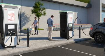 ABB launches 360kW EV fast charger