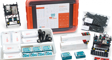 Arduino has introduced Arduino Education, along with four new STEAM products for students from lower secondary school through to university.