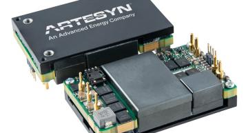 Artesyn Embedded Power's BDQ1300 quarter-brick DC-DCconverter has an input voltage range from 40 to 60V with 110A for telecom, computing and server applications.