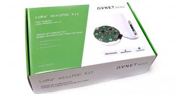 Avnet Silica has introduced the company's MiniPOC Kit, which has been developed to allow 'Proof-of-Concept' for edge-to-cloud IoT applications.