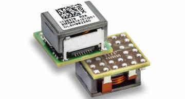 The BMR4615001/001 from Flex Power Modules provides up to 15A/50W at an adjustable output voltage of 0.6-3.3V