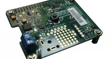 CML Microcircuits's EV6550DHAT is a Raspberry Pi HAT compatible evaluation and development board that demonstrates the features of the company's CMX655D voice codec.