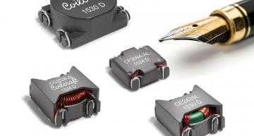Coilcraft has launched a family of surface-mount common mode chokes includes 16 sizes/configurations for a broad range of power line circuits.