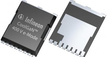 Infineon's latest 600V and 400V GaN gallium nitride devices are aimed at switching power supplies and audio applications.