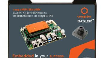 congatec's new NXP i.MX 8 platform features all components required for MIPI camera support on-board, allowing plug & play connection of camera technology