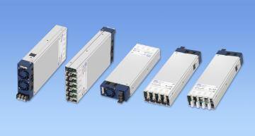 Cosel's AME 1U modular system architecture provides various output configurations