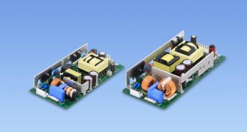 Cosel has launched a series of open frame compact AC-DC converters that are EN62477-1 OVC III certified for demanding industrial applications.