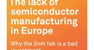 "European 2nm chip fab a ""futile endeavour,"" says think tank"