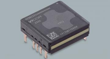 Vicor's DCM2322 ChiP family of DC-DC converter modules is a lower-power variant of its DCM3623 series,