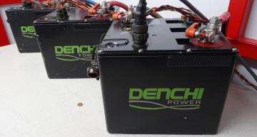 The 430935A rugged 6T lithium ion battery from Denchi Power supports up to 4000 cycles for military applications