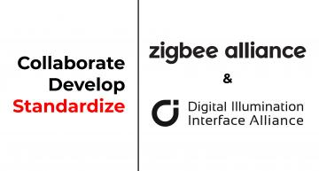 The Zigbee Alliance and the Digital Illumination Interface Alliance (DiiA) will work together to further standardize and increase system interoperability to luminaires.